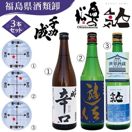 福島の地酒飲み比べセット