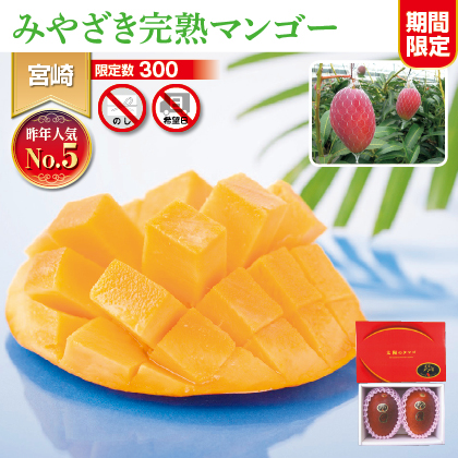 宮崎県JA西都産 完熟マンゴー「太陽のタマゴ」