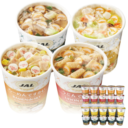 JAL「カップ麺」4種セット(20食)