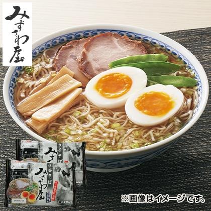 仙台「みずさわ屋」醤油ラーメン