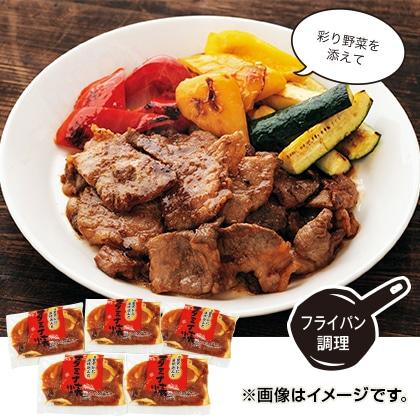 宮崎黒豚のスタミナ焼き