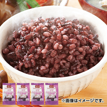 プチもち麦ごはん黒米・玄米入り12食