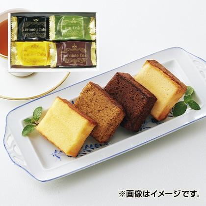 シベール ピースカットブランデーケーキ詰合せ