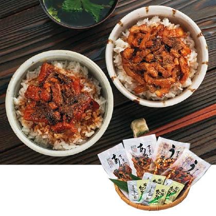 鰻と穴子の食べ比べ(湯煎で簡単調理)