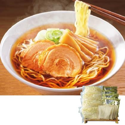 だし香る米粉入り麺の醤油ラーメン