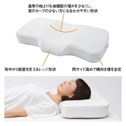 <西川>ストレートネックの方向け枕