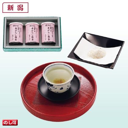 雪さらし唐辛子梅茶 大3缶