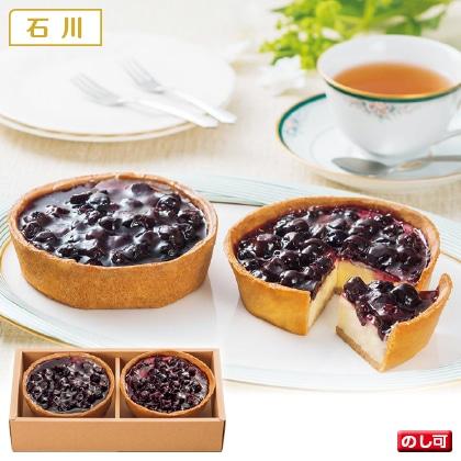 能登半島のブルーベリーチーズケーキ2個入