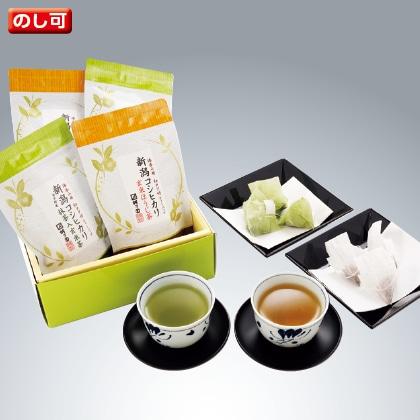 新潟コシヒカリ玄米茶