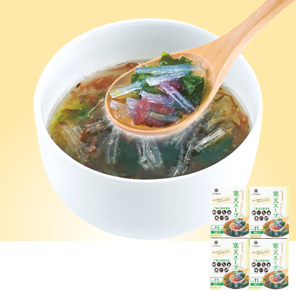 寒天スープ3食入×4箱