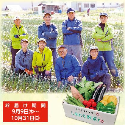 農場直送オーガニック野菜セット(9月〜10月お届け)