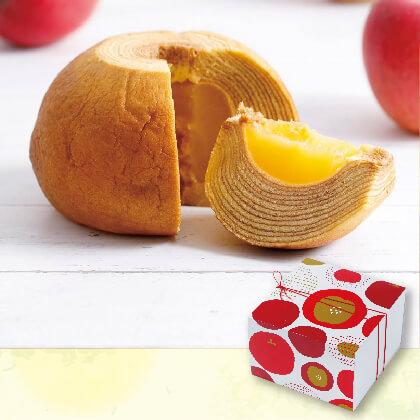 まるごとりんごのバームクーヘン