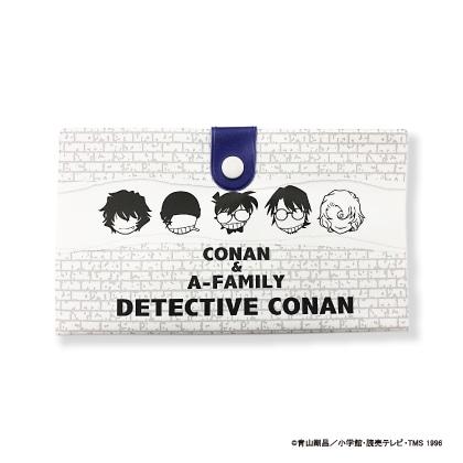 コナン/抗菌 マルチ通帳ケース