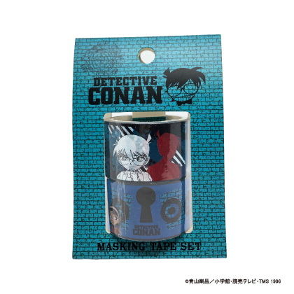 コナン/マスキングテープ 2個セットA(コナン)