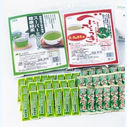 健康緑茶・べにふうき茶粉末セット