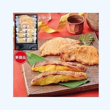 活〆真鯛と讃岐こめ豚の味噌漬