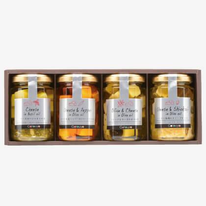 チーズのオリーブオイル漬けおつまみセット(2)
