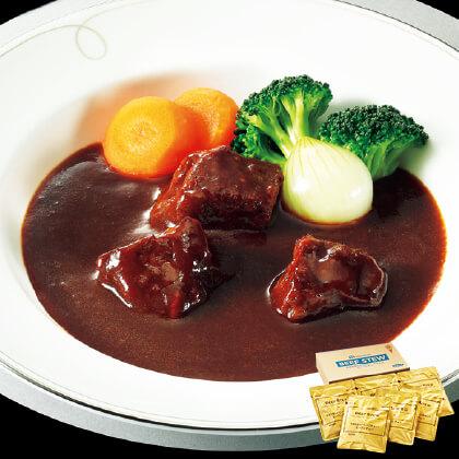 牛肉を柔らかくじっくり煮込んだビーフシチュー