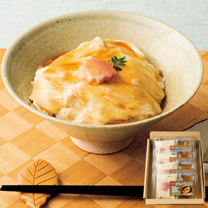 [北の麩本舗]おうちで湯葉丼