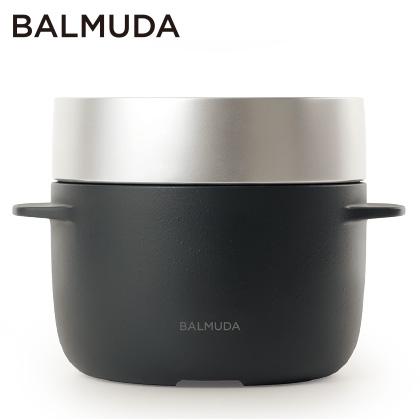 [バルミューダ]BALMUDA The Gohan 炊飯器 ブラック