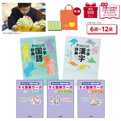 ベネッセの小学国語・漢字辞典&ワークブックセット