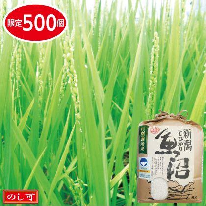 魚沼コシヒカリ特別栽培米5kg
