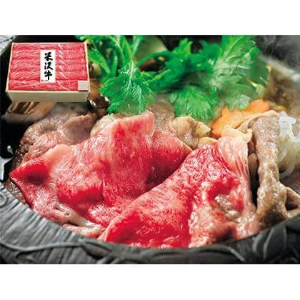 米沢牛モモすき焼用