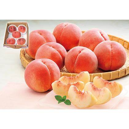 山梨の桃 5個