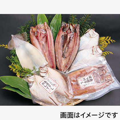 北の日本海一夜干しセット 6種