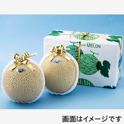 静岡温室マスクメロン 2個