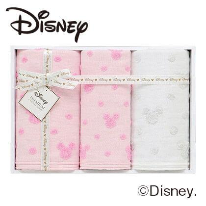 ディズニー ガーゼタオル3枚セットS A ピンク