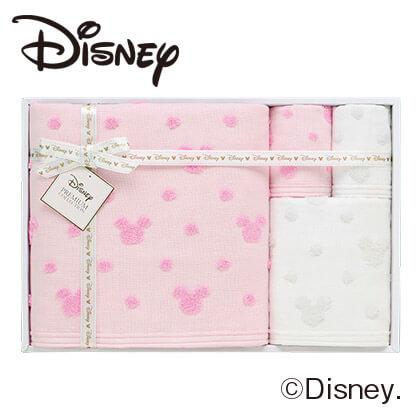 ディズニー ガーゼタオル4枚セットS A ピンク