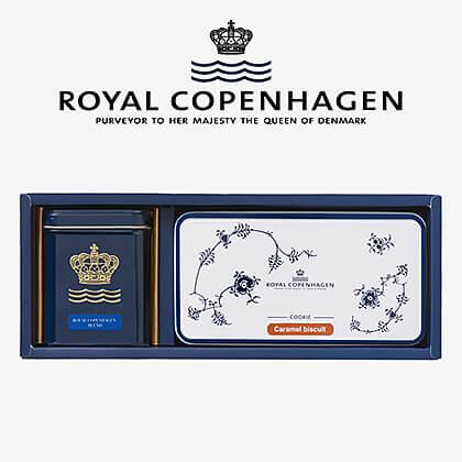 ロイヤル コペンハーゲン 紅茶・クッキーセット A