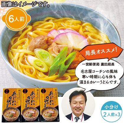 半生カレーうどん(6食)