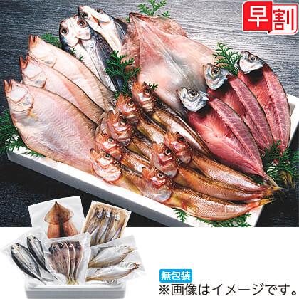 日本海のとれとれ干物セット A