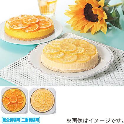 夏のクリームチーズケーキ