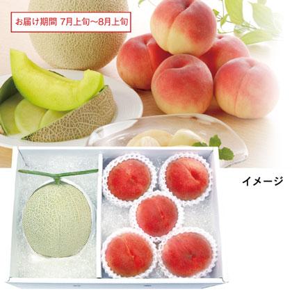 静岡マスクメロンと山梨の桃