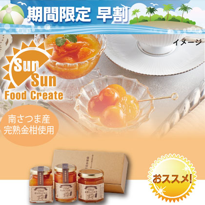 薩摩金柑3種セット