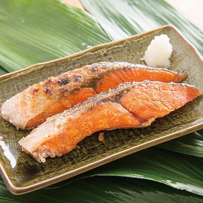 焼紅鮭(甘塩)