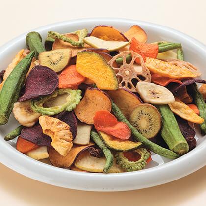 野菜・果物チップス(缶入り)