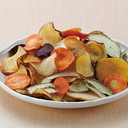 国産野菜・果物チップス