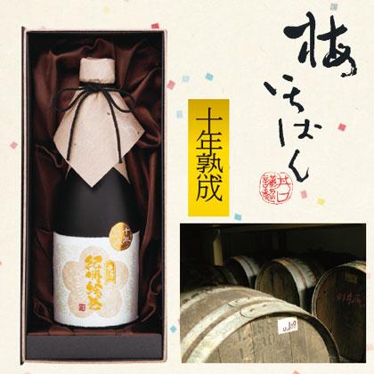 本格梅酒 十年熟成元酒 紀州絵巻