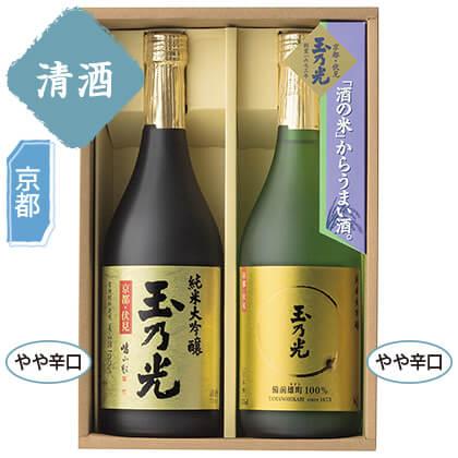 玉乃光酒造 純米大吟醸セット/日本酒(アルコール24%以下)
