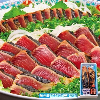 藁焼きトロかつおたたき(塩付)