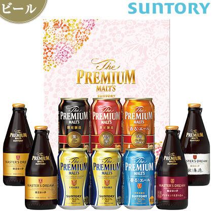 サントリー ザ・プレミアム・モルツ-華-冬の限定8種セットA/ビール/BMPU3N