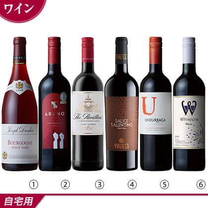 世界一周赤ワイン6本セット/ワイン