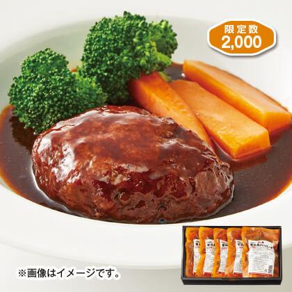 熊本県産「ASOのあか牛」煮込みハンバーグ