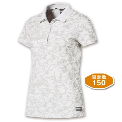 PUMA レディスポロシャツ ホワイト(Mサイズ)