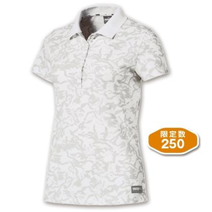 PUMA レディスポロシャツ ホワイト(Lサイズ)