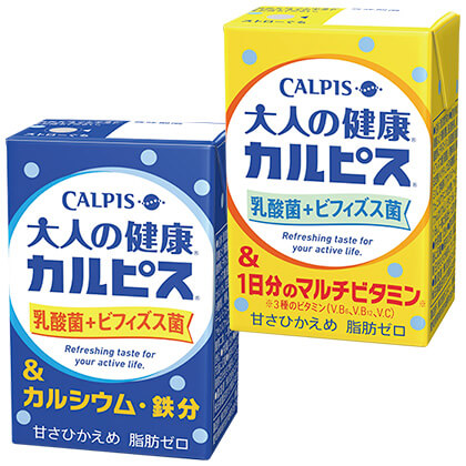 大人の健康カルピスセット